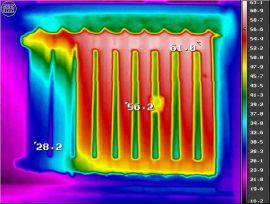 проверка радиаторов отопления тепловизором